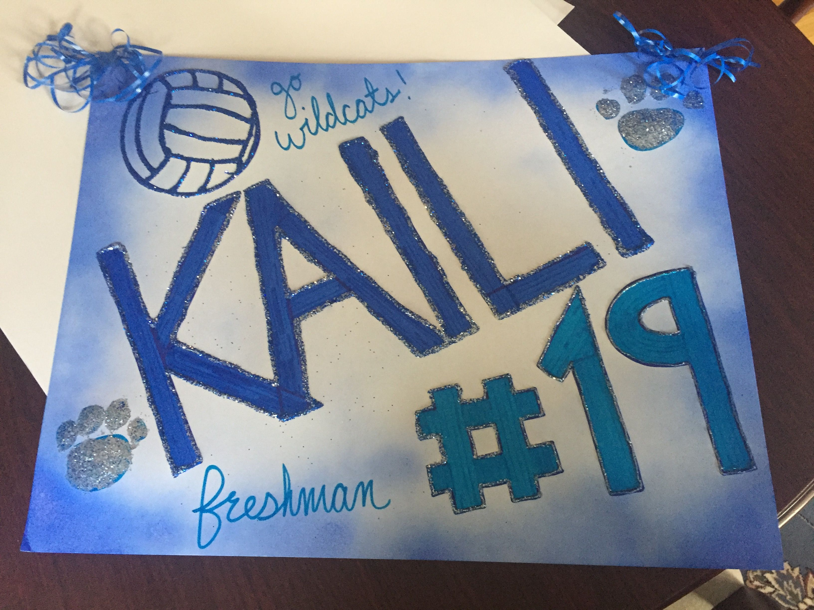 Volleyball Poster Volleyball Posters Volleyball Signs Volleyball Crafts