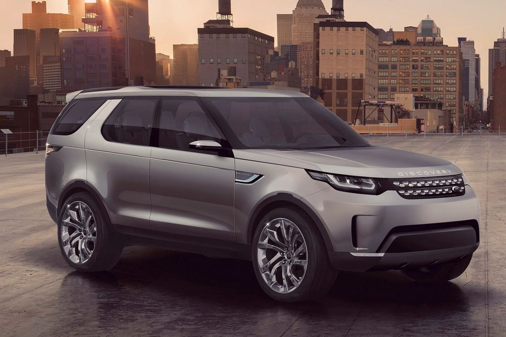 2016 Land Rover Discovery Vision Concept Concept Cars Pinterest