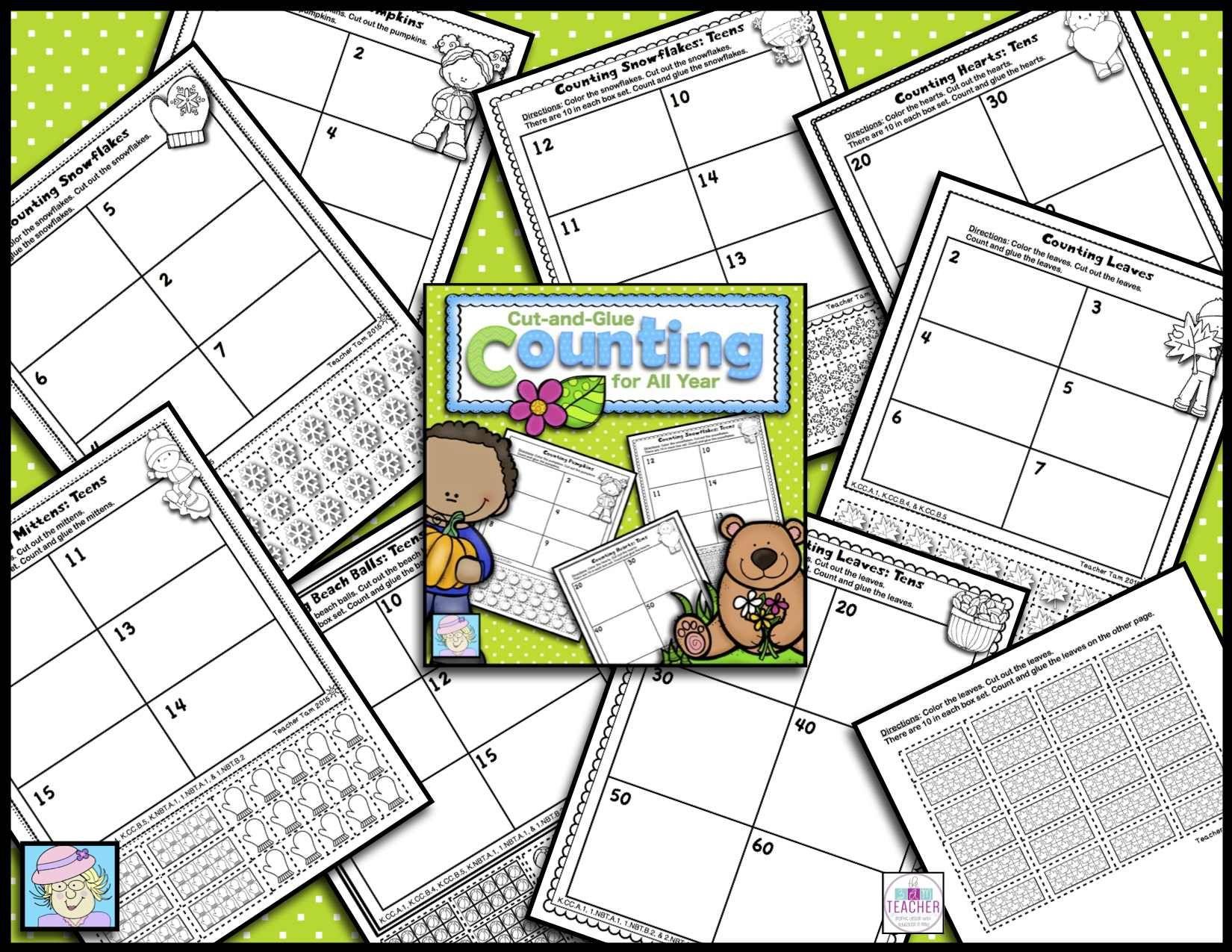 Place Value Worksheets Kindergarten First Grade