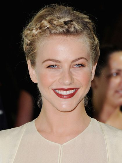 The 15 Most Romantic Hairstyles of the Moment: Julianne Hough's wraparound braid   allure.com