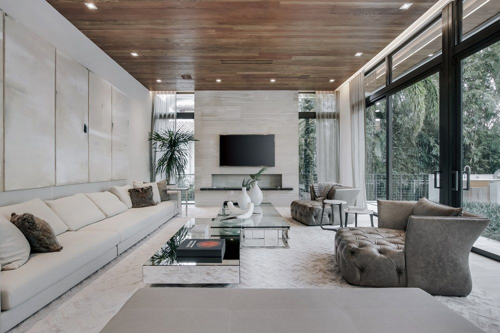 Fort Lauderdale House By Yodezeen Architects Farm House Living Room Living Room Sofa Design Fort Lauderdale House