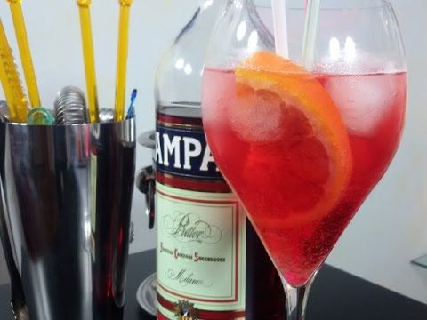 Cocktail Campari Spritz - YouTube