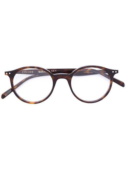 734d3e29dd Shop Céline Eyewear round glasses frames.