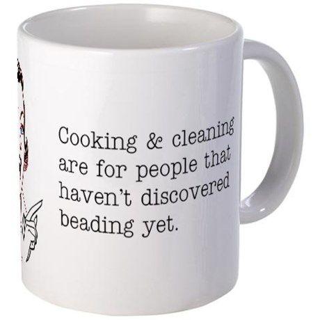Beading Mugs on CafePress.com