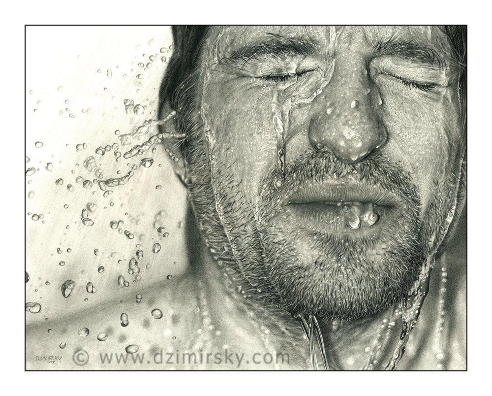 Drawn Face VI by DDzim on @DeviantArt