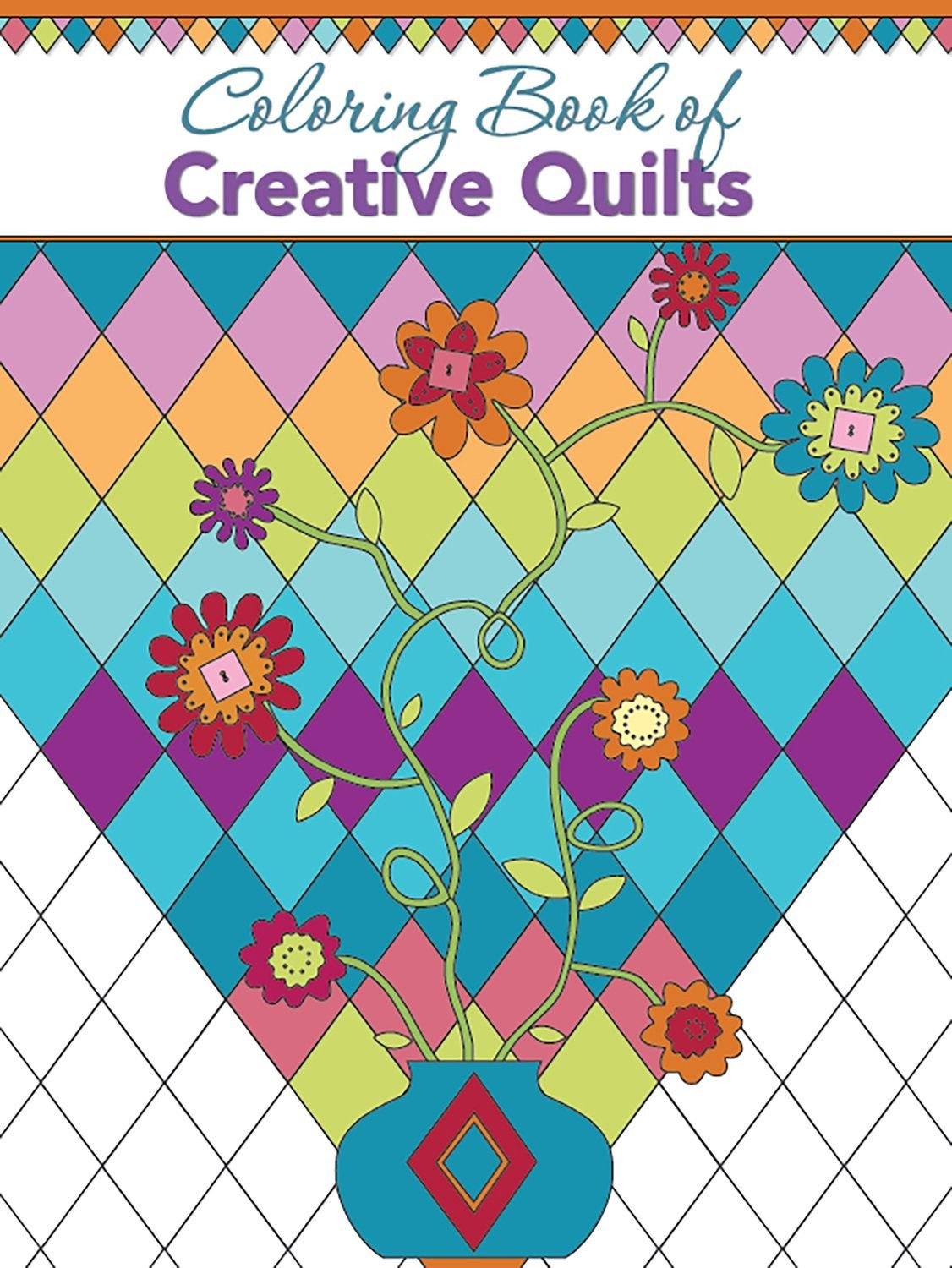Coloring Book Of Creative Quilts