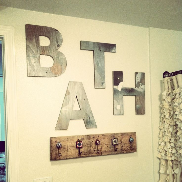 DIY Bathroom Wall Makeover | For the Home | For the Home | Pinterest ...