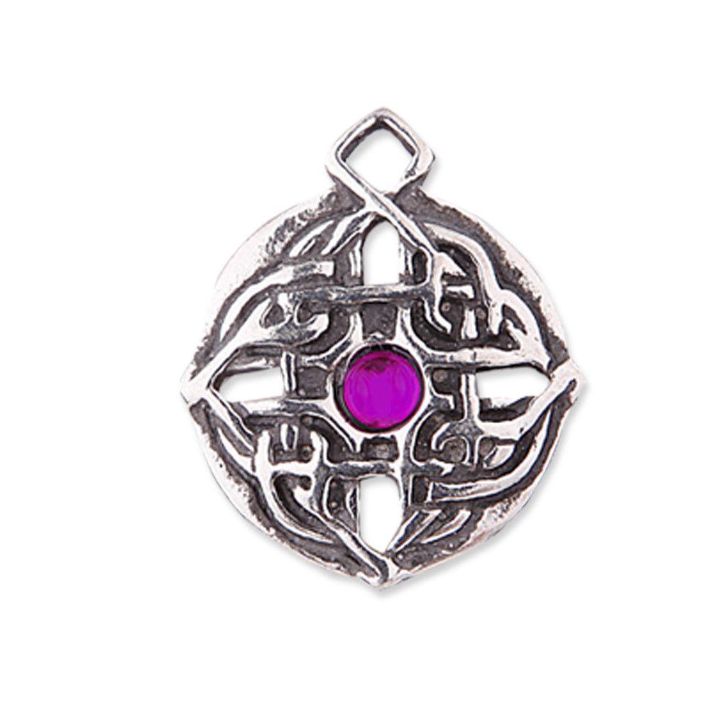 Celtic Mysteries Necklace Guinevere Knot CM06