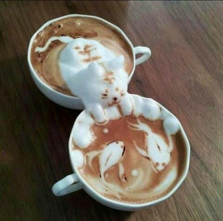 Wauw coffee art