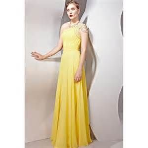 long yellow dresses - Yahoo Image Search Results