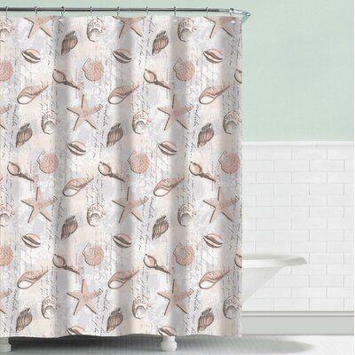 Highland Dunes Flensburg Single Shower Curtain Curtains Striped