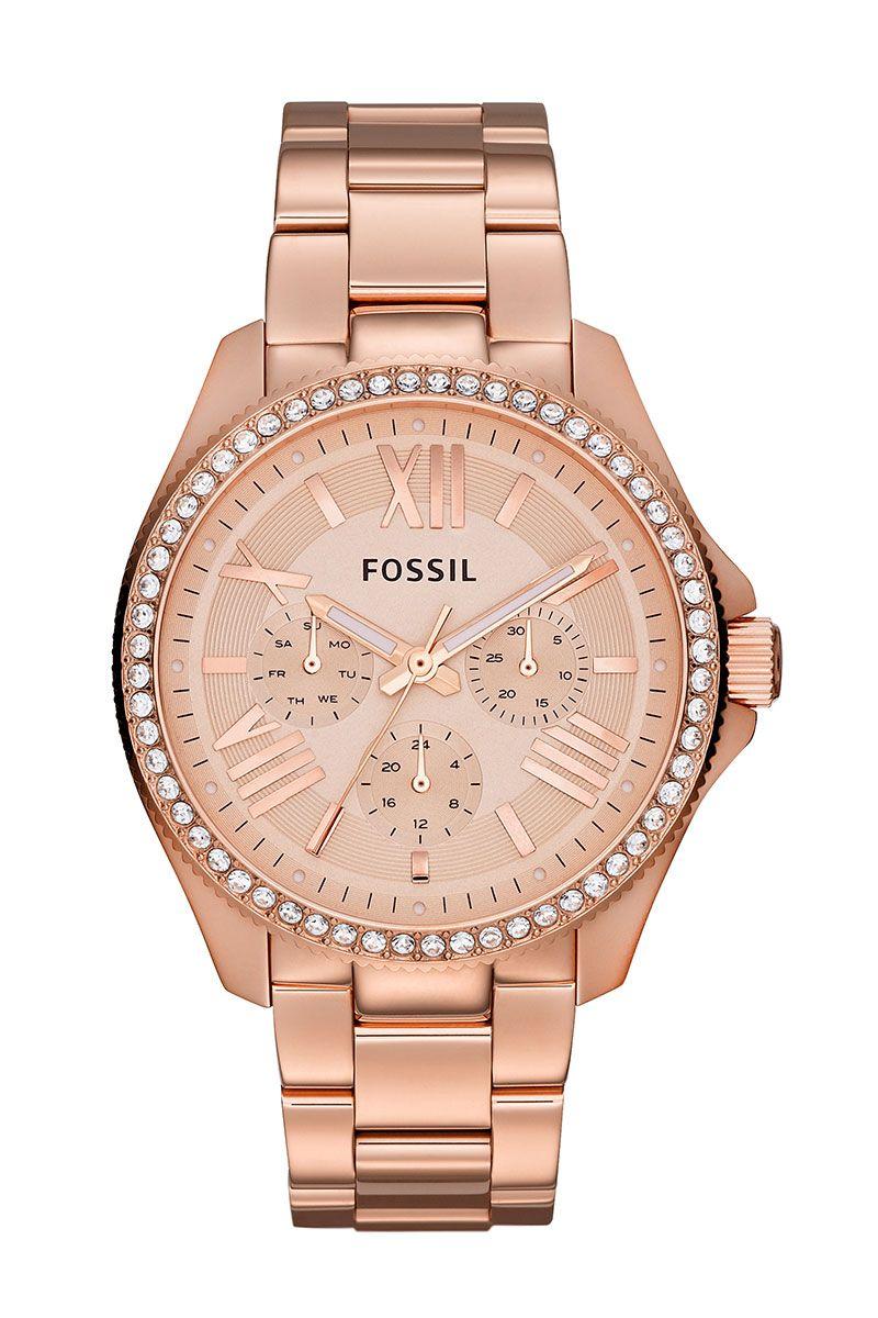 Fossil klocka rose