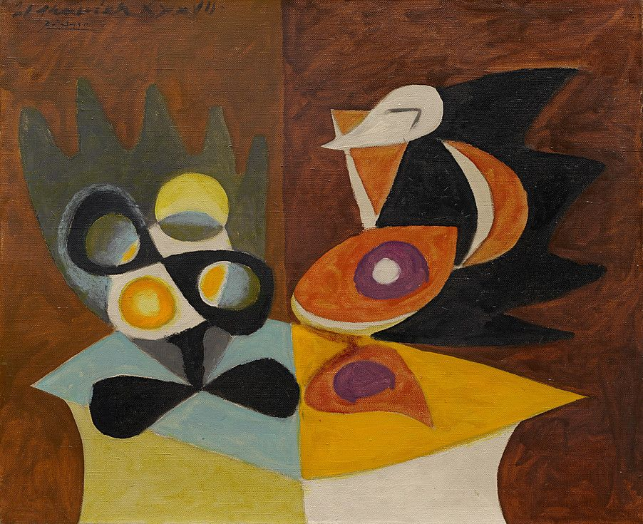 Collection Online | Pablo Picasso. Still Life: Fruit Dish and ...