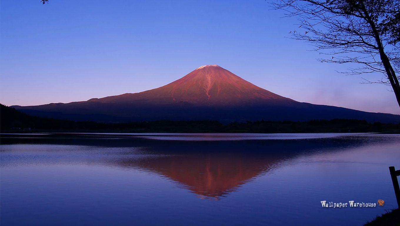 壁紙 富士山の壁紙 世界遺産 1360x768 Mt Fuji 富士山