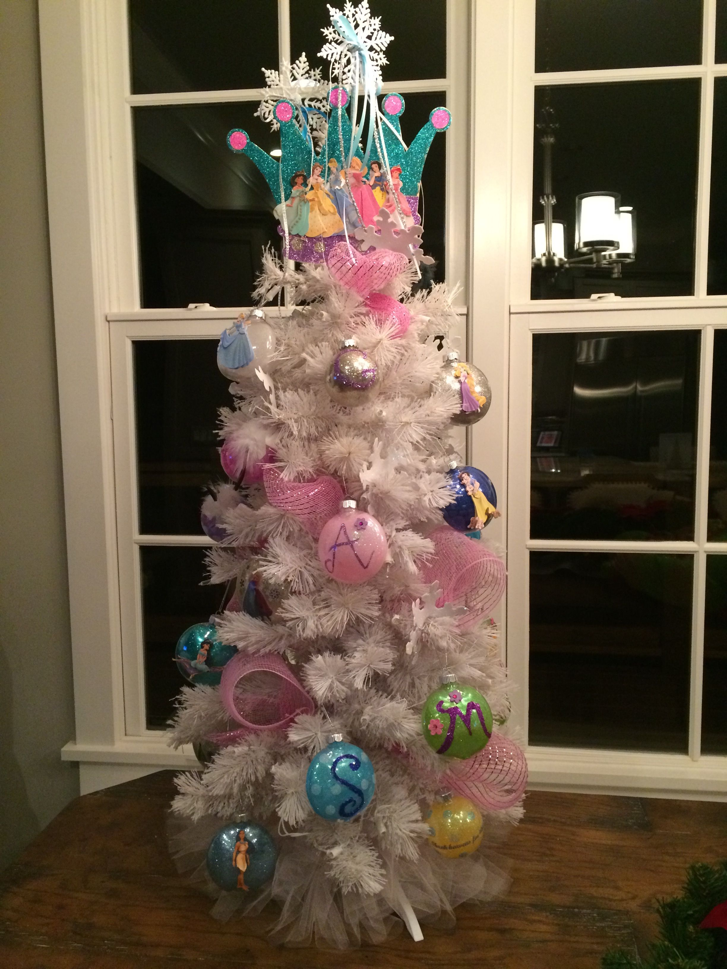 #DIY #Disney Princess #Princess Christmas Tree | Christmas ...