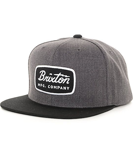 Turn up the style on your hat game with the new Brixton Jolt snapback hat. afe88666b04