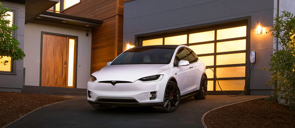 Four Steps To Charging Your Ev At Home Tesla Model X Electric Cars Tesla