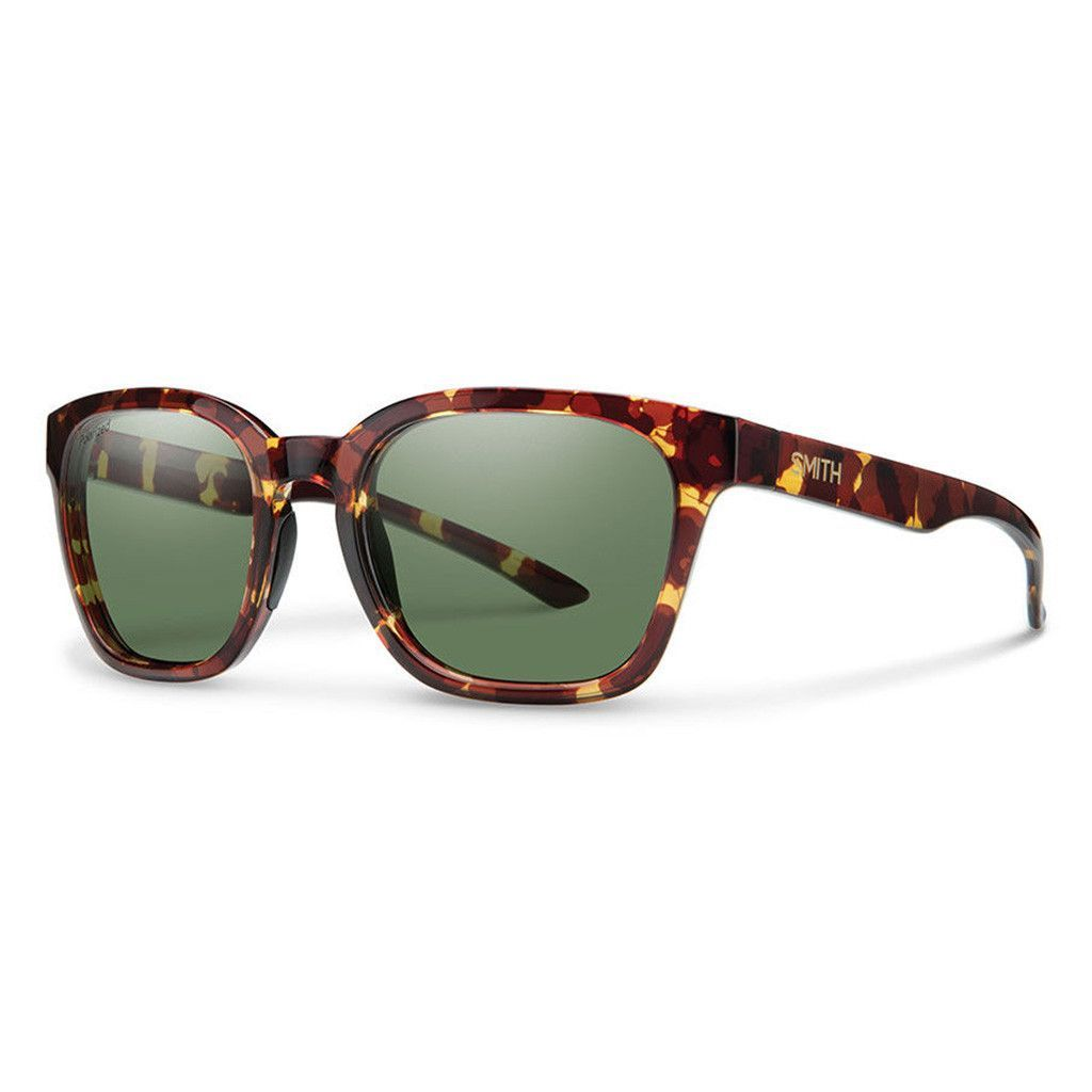 1aca0caf411 Smith Founder Slim Tort Polarized Grey Lens Sunglasses The Founder Slim is  a proportionally scaled-down silhouette within the Founder family.