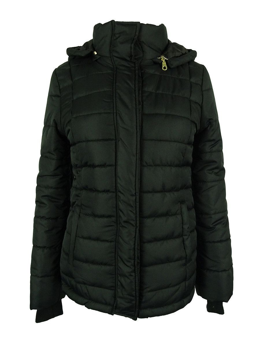 e91e05e5f2a87 Rampage Women's Puffer Coat With Hood   Products