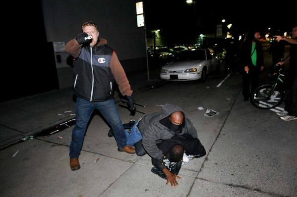 Undercover officers in Oakland were uncovered trying to incite a riot, pulled their guns when exposed and threatened those with cameras.
