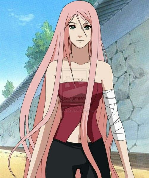 Sakura Haruno (Alternate Look) She Looks Like Kushina
