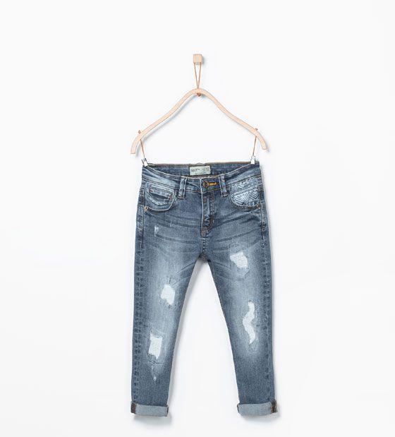 Pin De Kubra Oztfkc En Zara Kids Ropa Pantalones Denim