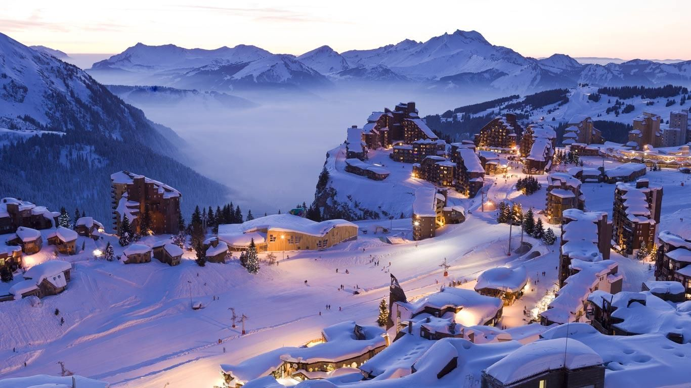 avoriaz ski resort, france. | things to see | skiing, winter, alps