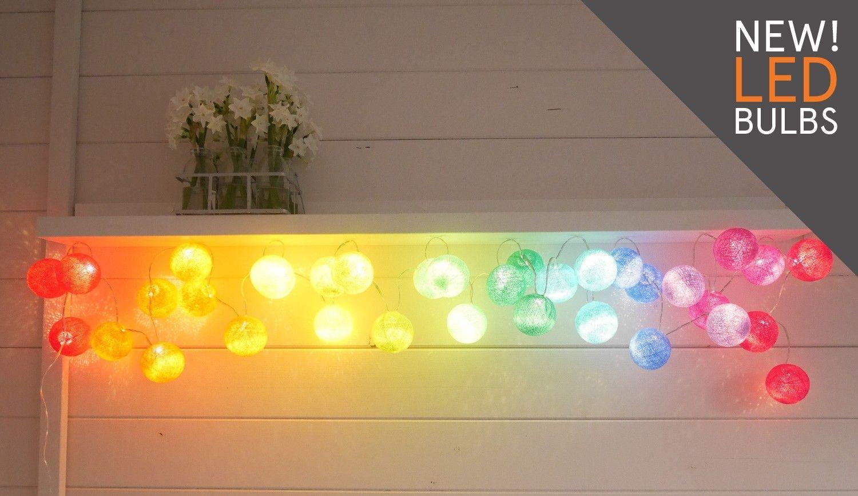 Rainbow Fairy Lights