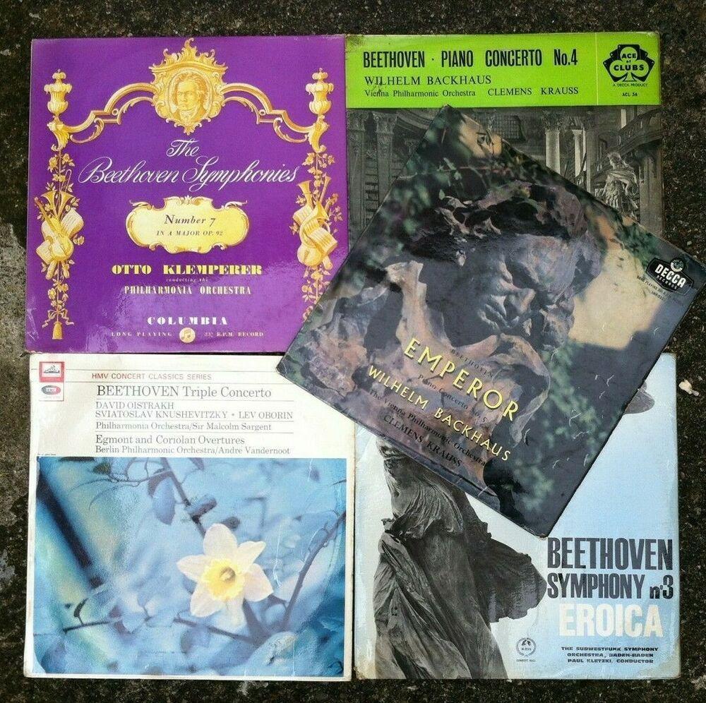 Job Lot Bundle of Beethoven Vinyl Albums. Fantastic