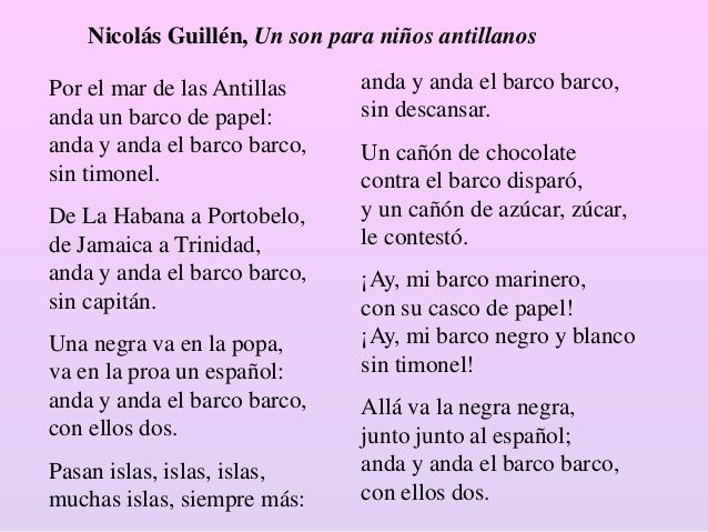 Por El Mar De Las Antillas By Nicolás Guillén Literature Quotes Poems Poetry