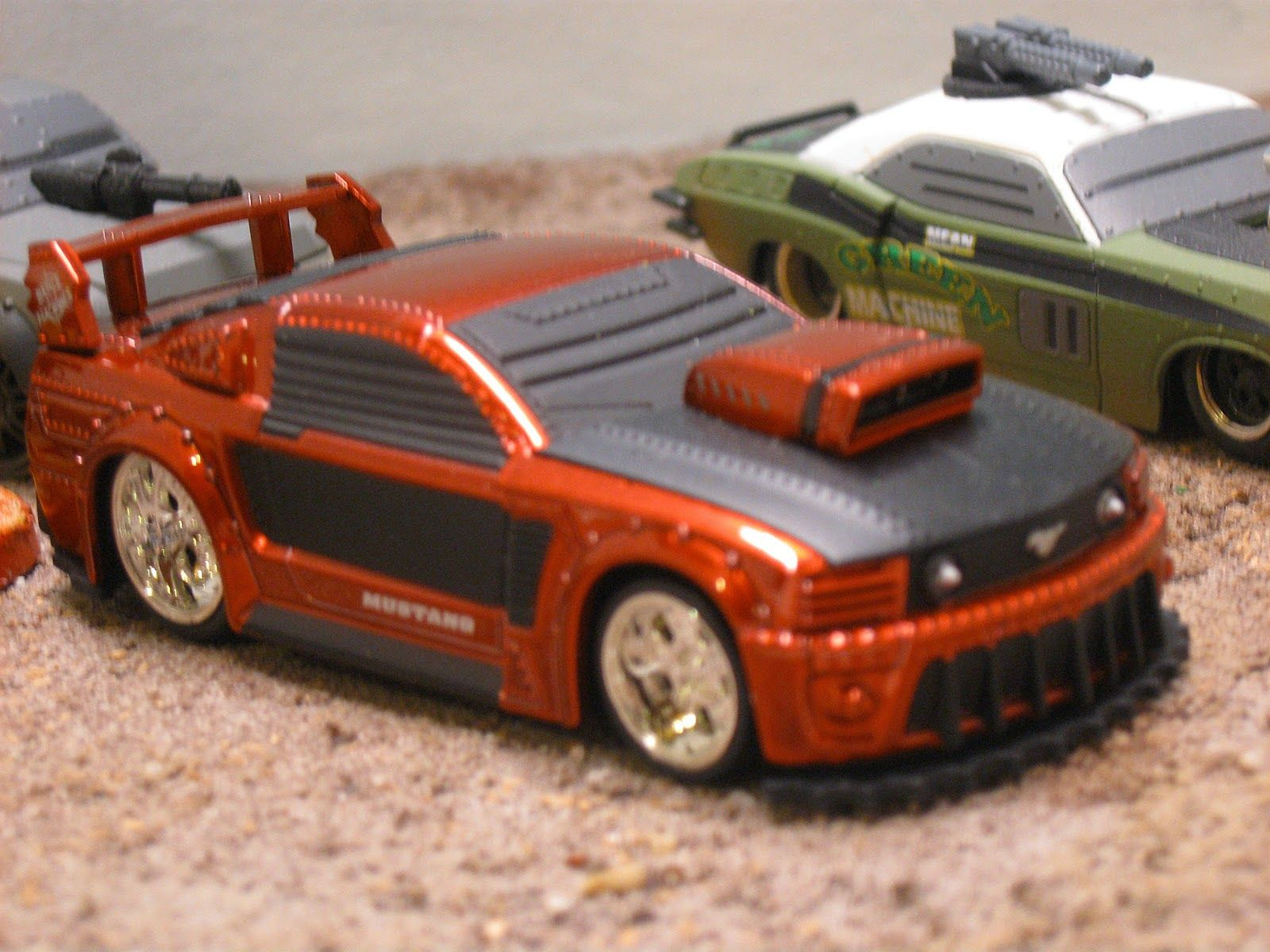 Doctor Merkury\'s Lab: Diecast Car Wars and Post Apocalyptic rides + ...