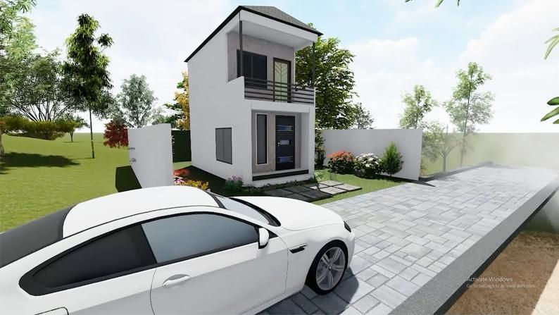 simple plan Modern house plans Two Storey House Plans AUTO CAD File floor plan 3d house plan tiny house design Container Box plan