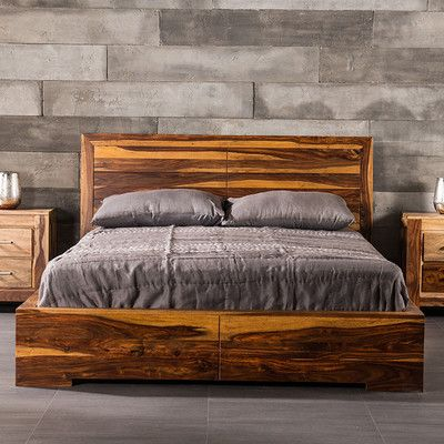 Found it at Wayfair - Romy Panel Bed bedroom ideas Pinterest - dream massivholzbett ign design