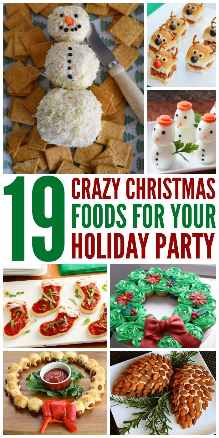 Superior Creative Christmas Party Food Ideas Part - 3: Here Are 19 Crazy Christmas Food Ideas Thatu0027ll Make A Big Splash With  Everyone. From Appetizers To Sweets, Weu0027ve Got You Covered.