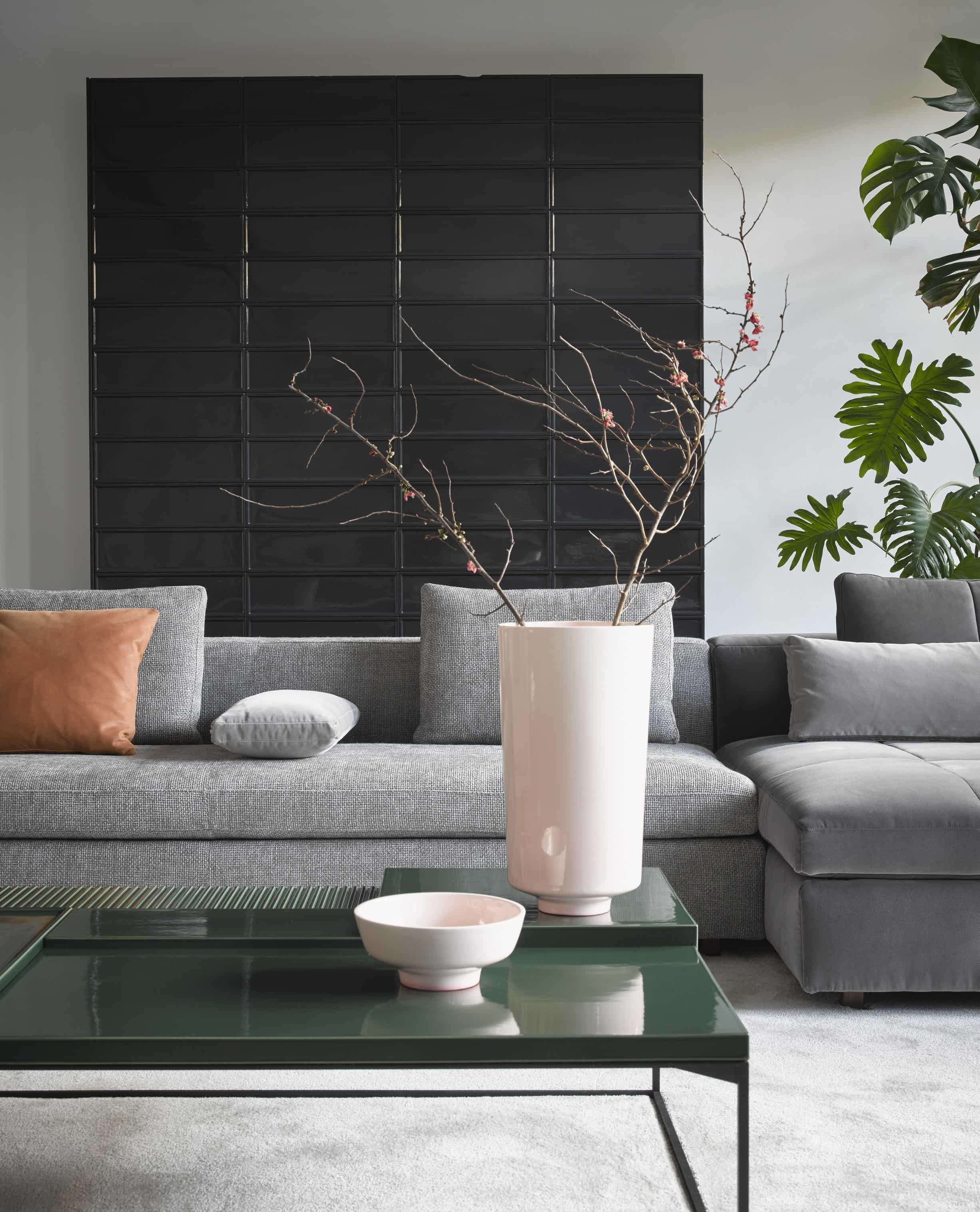 Madison Sofa By Linteloo Contemporary Furniture Design Contemporary Furniture Green Texture [ 3031 x 2451 Pixel ]