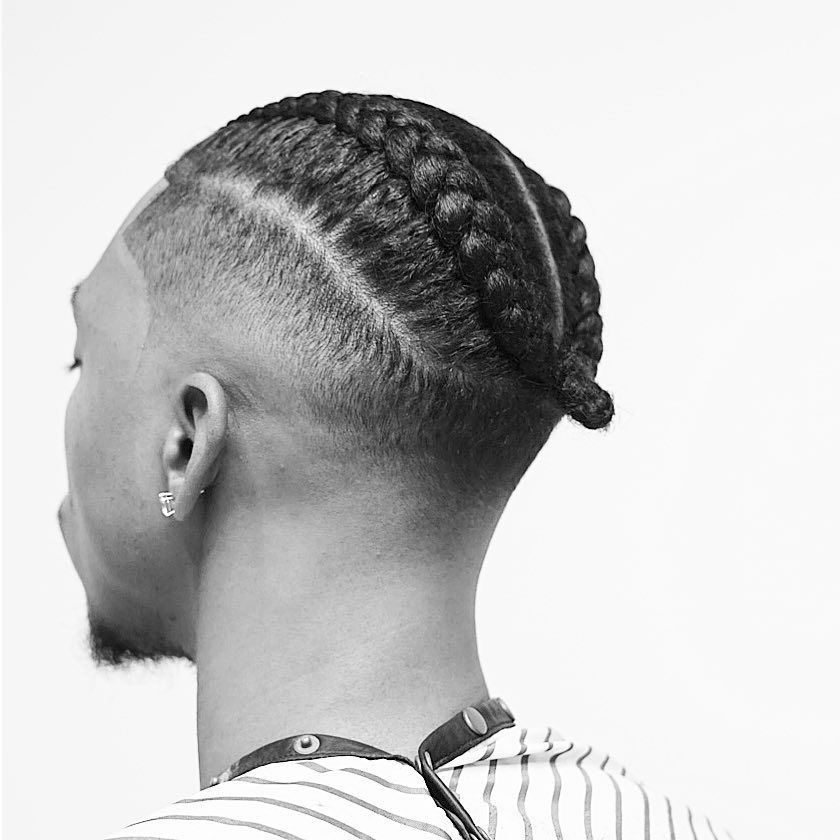 Inspiration For Men Coupe Afro Homme Tresse Coiffure Homme Style Tresses Homme