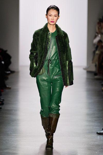 Photo of Dennis Basso at New York Fashion Week Fall 2020