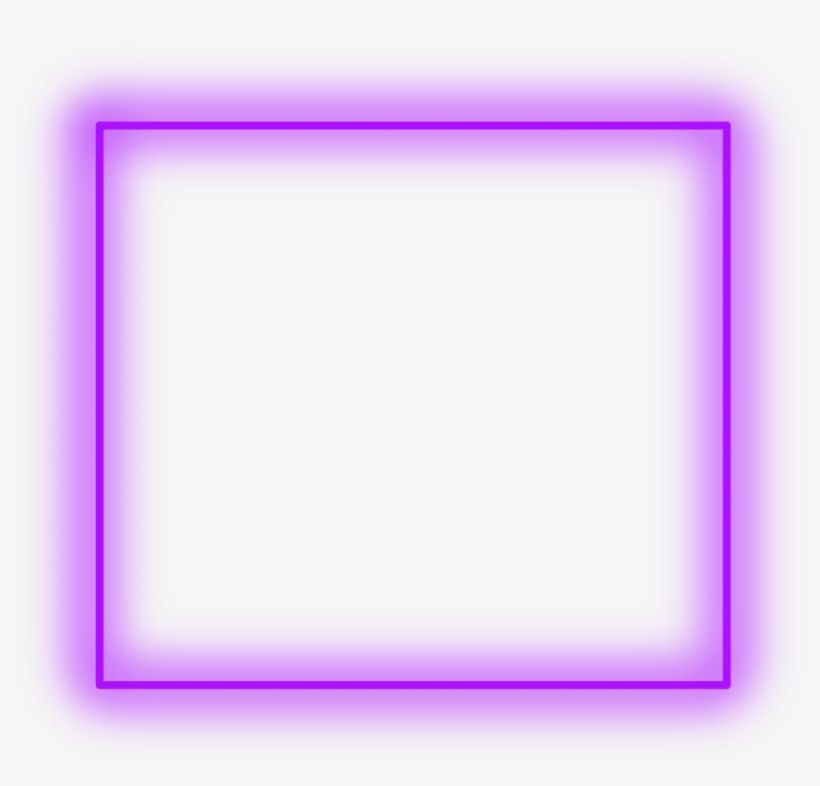 Sticker Neon Square Purple Freetoedit Frame Border Circle Neon Png Cool Powerpoint Backgrounds Neon Light Wallpaper