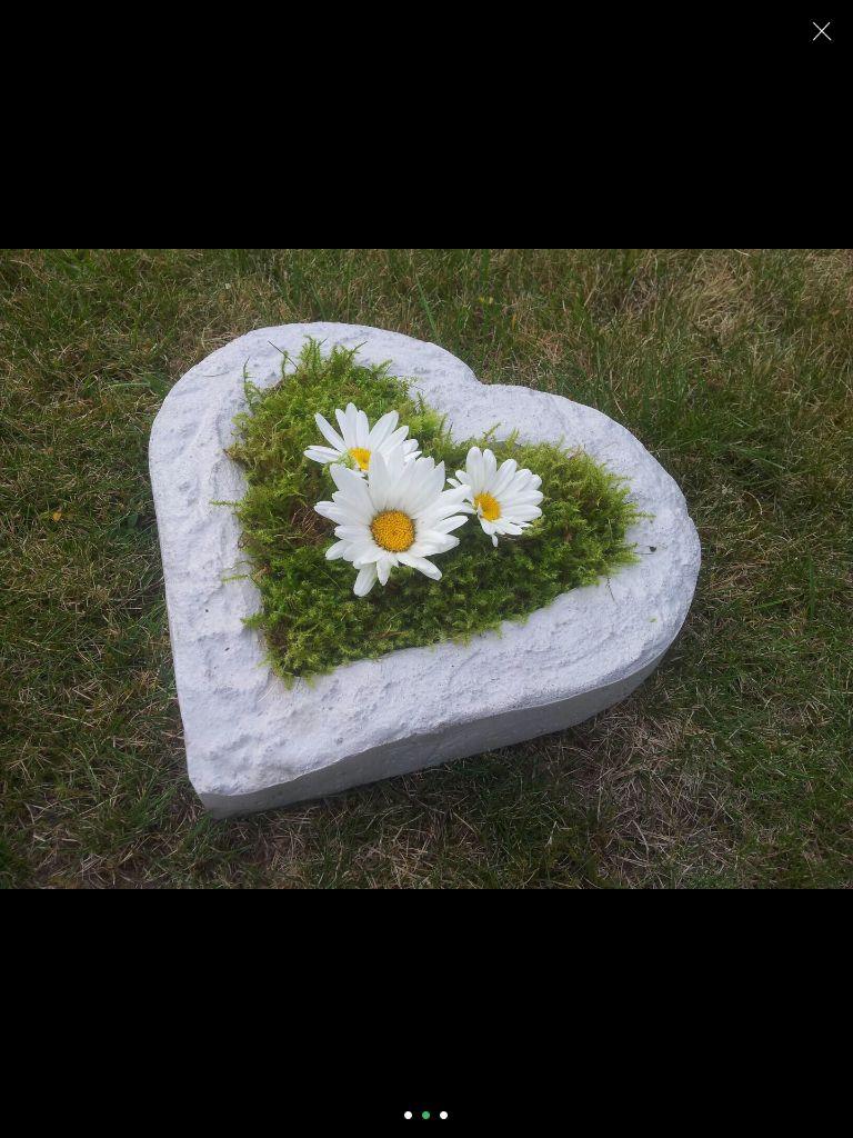 Herz Schale Geschenk für Hochzeit Valentinstag Geschenke für Männer Grabschmuck
