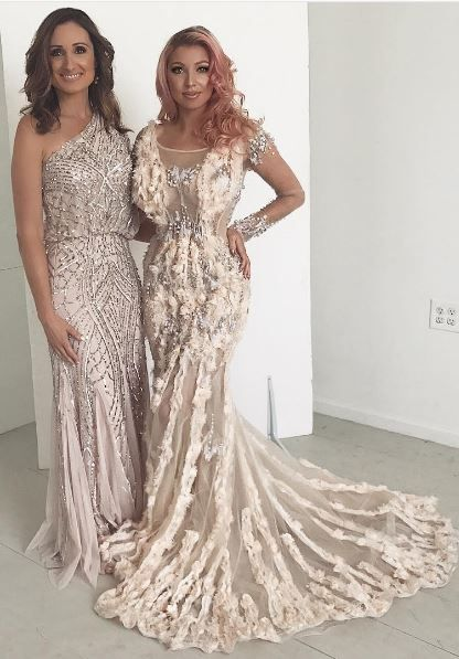 Shop These Awe Inspiring Designer Dress Rentals At Lending Luxury Musani Knows How To Knock Em Dead With Delici With Images Designer Dresses Designer Dress Rental Dresses