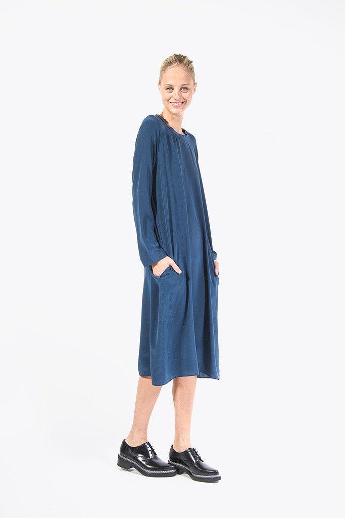 b82f0ec544 Deline Dress by Sofie D Hoore  kickpleat  sofiedhoore