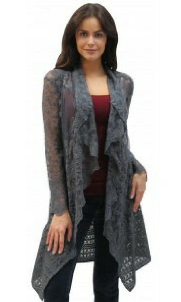 Ladies Lace Cardigan by Caite - Etta | Products