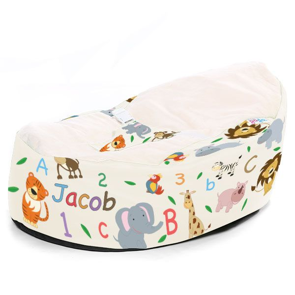 Awe Inspiring Our Zoo Animal Baby Bean Bag Is Part Of Our Unique Printed Pabps2019 Chair Design Images Pabps2019Com