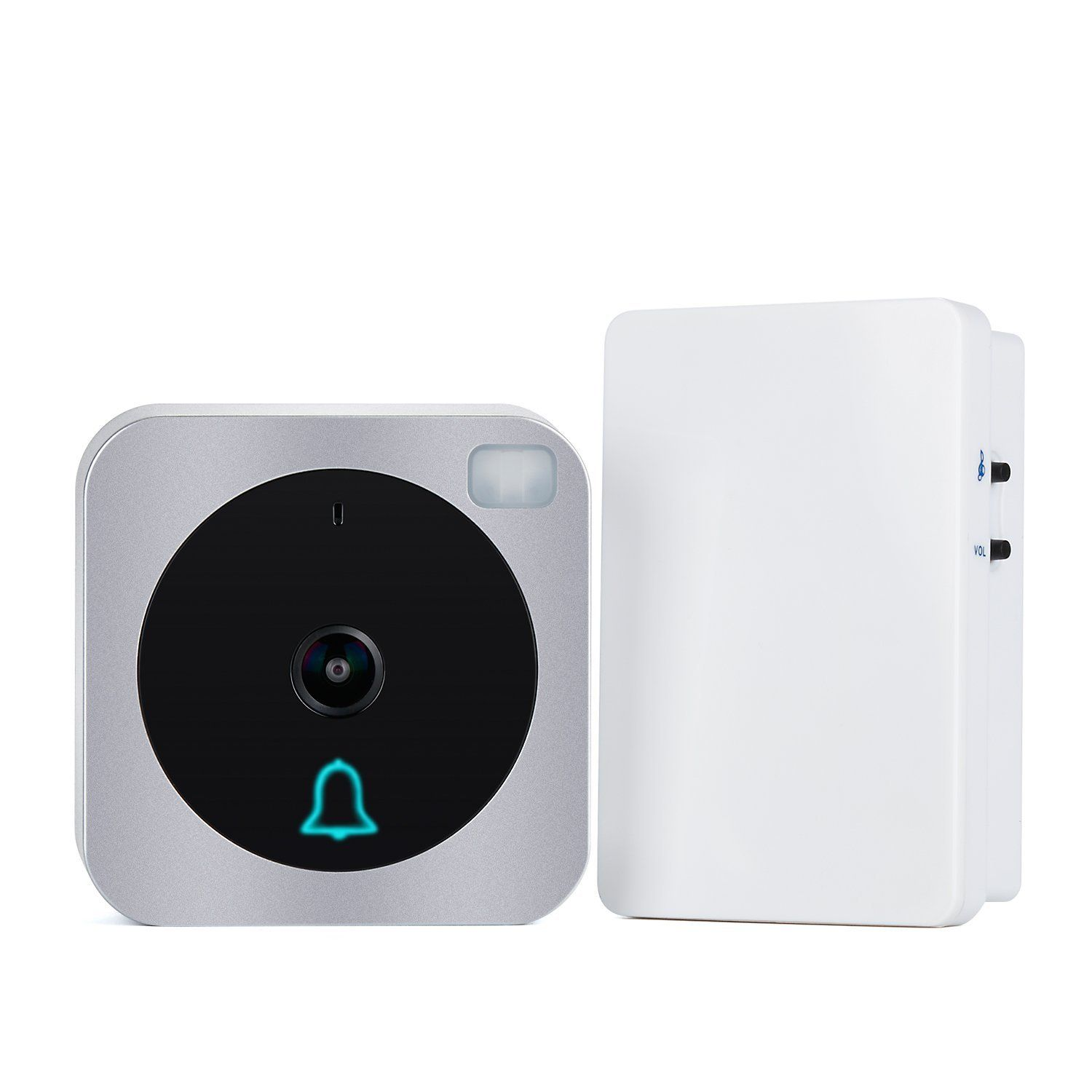 Amazon.com Vuebell Wifi Video Doorbell Wireless Video Intercom Doorbell with Motion Detection  sc 1 st  Pinterest & Amazon.com: Vuebell Wifi Video Doorbell Wireless Video Intercom ...