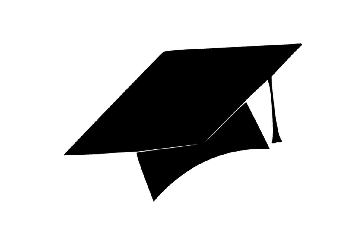 This is an image of Clever Printable Graduation Cap