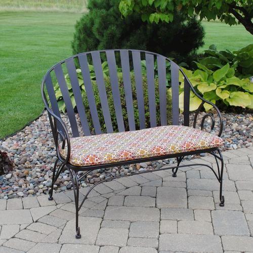 Backyard Creations Cedar Creek Bench At Menards Backyard Creations Backyard Patio Furniture