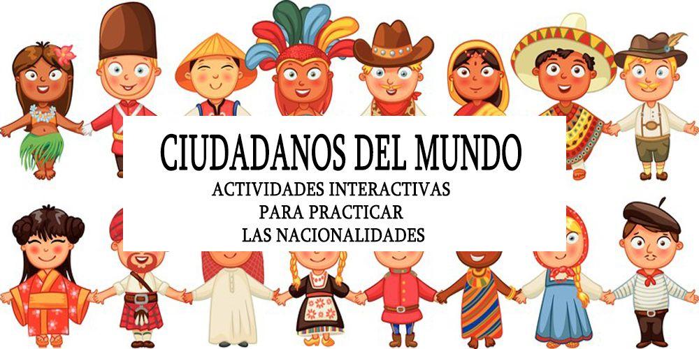 Mundo Intercultural Países Y Nacionalidades En Español: Español, Ejercicios De