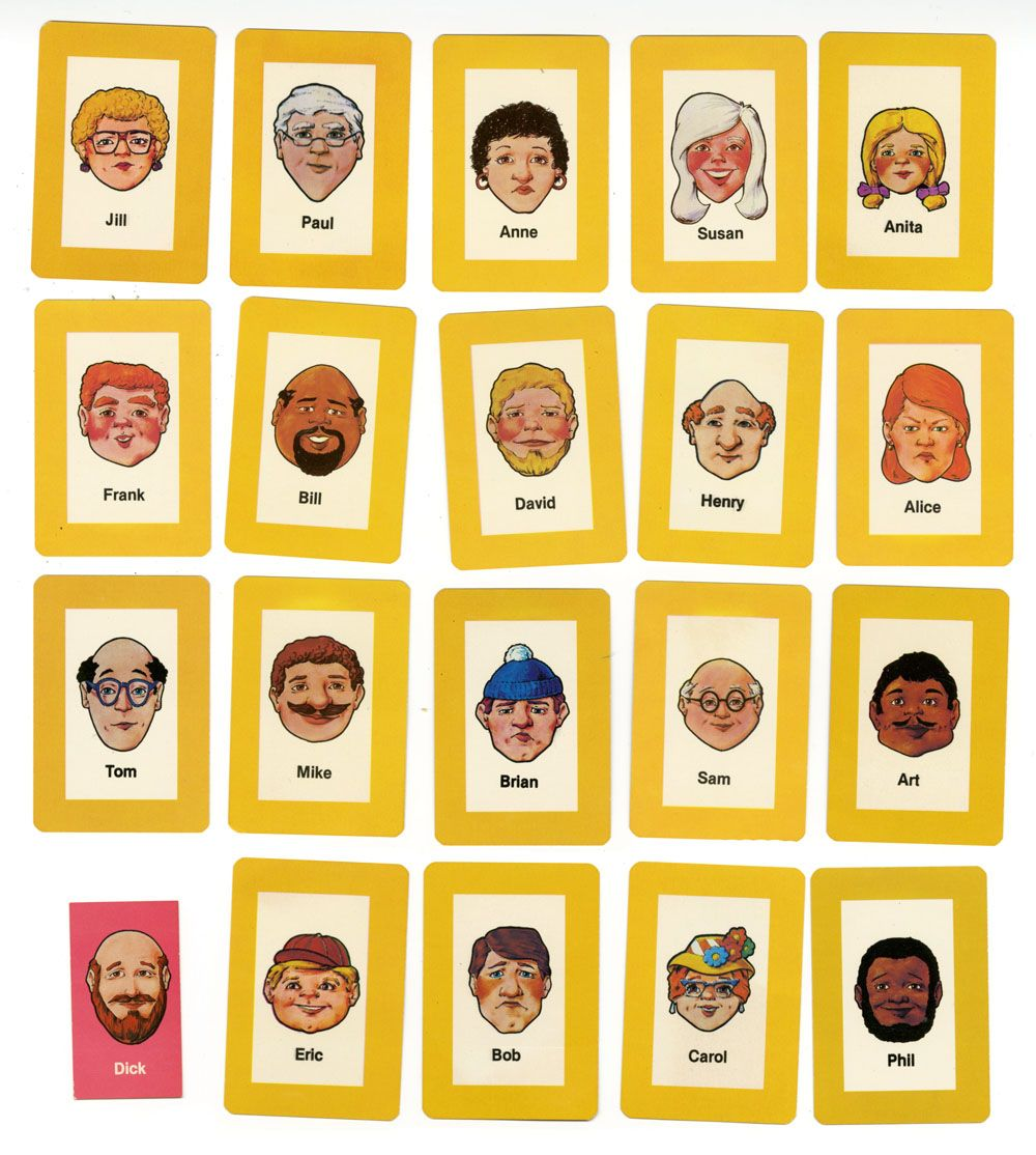 super popular d7428 ab79c double tap to zoom Array - character sheets guess who hasbro rh cellcode ...