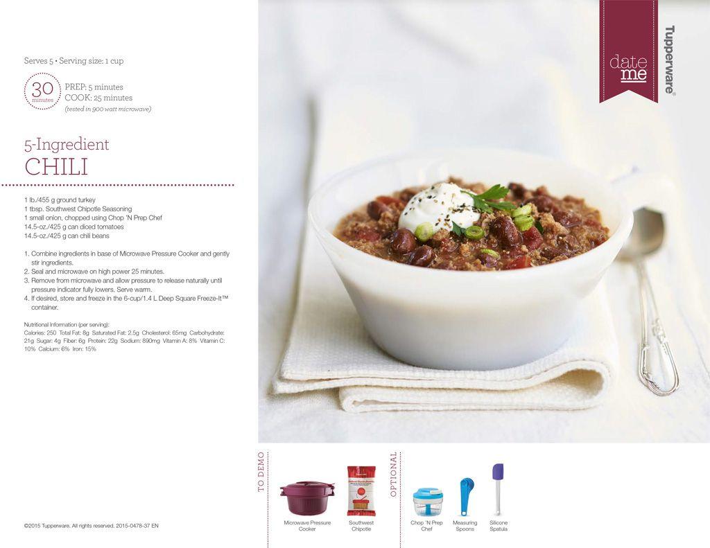 Bpa free kitchen 5 ingredient chili download a free pdf bpa free kitchen 5 ingredient chili download a free pdf tupperware recipe forumfinder Gallery