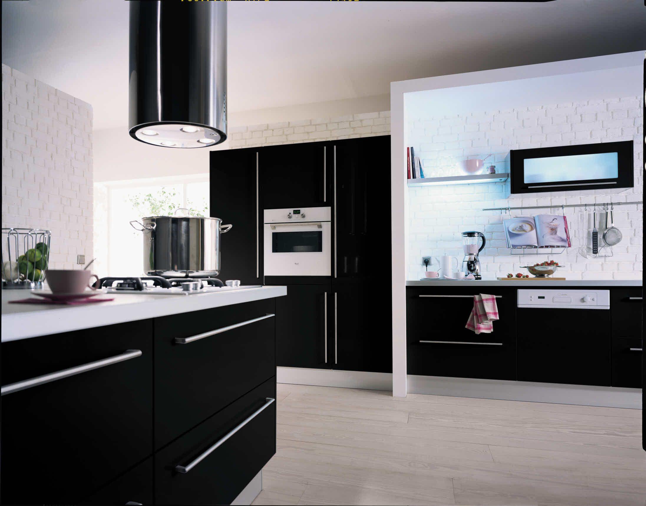 Cuisine City Noir Brillant Kitchen Cabinets Direct Cabinets Direct Hygena
